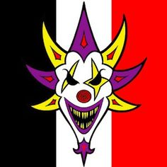 insane clown posse icp huge reaper with logo above