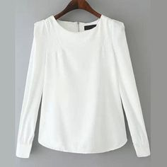 29,90EUR Bluse Chiffonbluse weiss