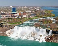Niagara Falls is in the Niagara Frontier region of New York state. Description from neyeara.net. I searched for this on bing.com/images