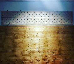 Hows your climbing?! First installment of our Peg board wall added to the Gymnastics area. Stallbars to go up and a bit more lighting and we're good to go. We might have an Awesome Walls Bray pretty soon   #pegboard #handstandwall #climbingwall #gymnastics #gym #bray #wicklow