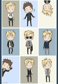 Patrick as a little cartoon this amazing!!!!!