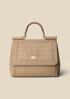 Weaved leather Sicily: dolce and gabana