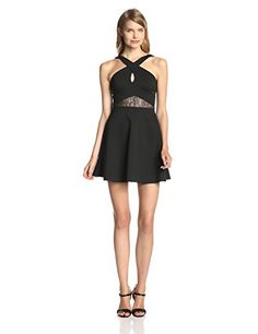 BCBGeneration Women's Cross Front Dress, Black, 2 BCBGeneration http://www.amazon.com/dp/B00JU3FUI0/ref=cm_sw_r_pi_dp_QpEBub0P5YFBX