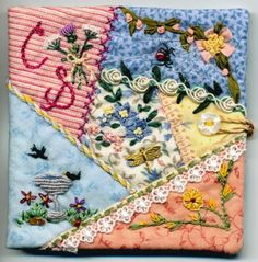 Needlebook for Cindy by Prairie Thistle, via Flickr