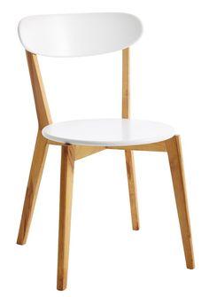 Ruokapöydän tuoli JEGIND tammi/valkoinen | JYSK