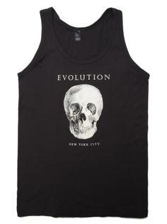 The Evolution Store Tank! 100% Cotton. Unisex sizes XS-2X.  #summer
