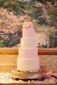 Turning Stone Wedding, Cherry Blossom,  Wedding Cake Turning Stone Casino Resort