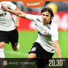 Romero é craque do Cartola FC