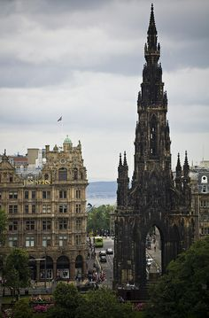 The Scott Monument, Edinburgh, Scotland, UK