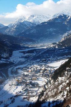 Salbertrand, Piedmont, Italy - Day