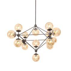 dCOR design Barrista 15 Light Cluster Pendant