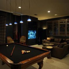 adult game room pool room decor best media room game room theater room images on home designer pro layout Man Cave Designs, Bar Designs, Home Entertainment, Game Room Basement, Ultimate Man Cave, Game Room Design, Home Theater Rooms, Man Room, Lounge