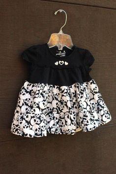 Baby Girl Rock N Roll Skull Dress