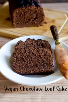 This Vegan Chocolate Loaf Cake is an incredibly soft and sinfully chocolatey cake that has the additional brownie points of being vegan. Today is chocolate cake day. For so many reasons. But the first is because i was supposed to have made something with chocolate and yeast but the weather guy is being very difficult …