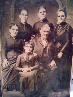 """previous description - Pretty sure the girl in front was dead, and possible the girl on the left in the back row.  This picture is pretty big, about 12 x 20""""."""