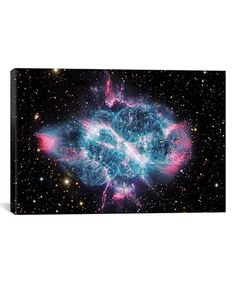 Loving this Robert Gendler 'Planetary Nebula In Musca (NGC 5189)' Wall Art on #zulily! #zulilyfinds