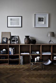home living I wohnen regal box holz