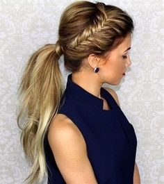 Every woman loves ponytails, they're elegant and quick to put together. You just pull all your hair back and up, tie it together with a hair band and walk out of the door. By having a ponytail, you can create a whole range of different looks from classy to funky, and you can have the perfect hairstyle for any occasion!