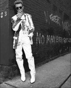 David Bowie, New York City Photo by Albert Watson. David Jones, Take Me Away, Mcqueen, Ziggy Played Guitar, The Thin White Duke, Pretty Star, Major Tom, Life On Mars, Joan Jett