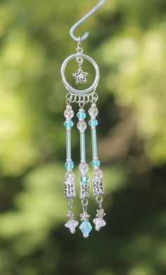 Miniature Fairy Garden Wind Chime Dollhouse by TaraStarrDesigns, $16.00