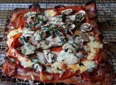 Pizza. One of the most delicious foods known to man. Is there any food out there that could be less ketogenic? One of my personal Achilles' Heel foods. Before I went paleo, I can safely say tha...
