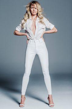 Candice Swanepoel Mother Denim Collaboration - Image 3