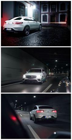 Mit dem Mercedes-Benz GLC Coupé wird die Nacht taghell.  #MBPhotoCredit: Cédric Bloch Fotografie
