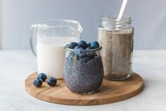 This Blueberry Chia Seed Pudding couldn't be easier! Made with only 5 plant-based and good-for-you ingredients, it brings major flavor, but almost no time in the kitchen. Perfect for Meal Prep!