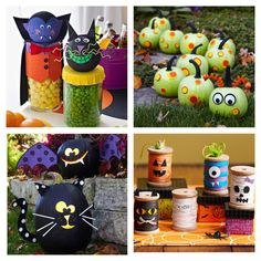 Kids & Family Halloween crafts