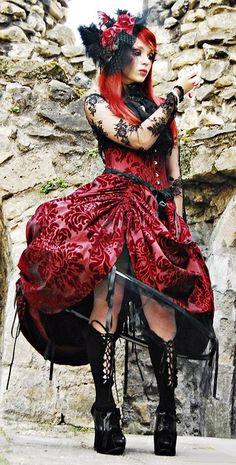 Goth gothic fashion