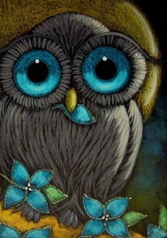 Google Image Result for http://www.ebsqart.com/Art/Gallery/Acrylics-Colored-Pencils-Pastels-Glitter/585735/650/650/FANTASY-BLACK-BABY-OWL-4.jpg