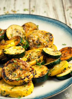 Zucchini Gremolata - 25 min (zucchinis, orange juice, coconut oil, garlic, onion, basil, parsley, orange, salt & pepper)