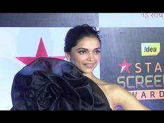 Deepika Padukone looks GORGEOUS At Star Screen Awards 2016. Deepika Padukone Latest, Looking Gorgeous, Gossip, Awards, Interview, Photoshoot, Star, Music, Youtube