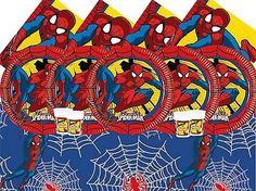Ultimate #spiderman birthday party #tableware superhero #supplies decorations ,  View more on the LINK: http://www.zeppy.io/product/gb/2/292008985967/
