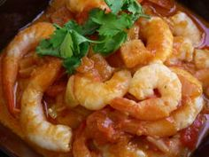 Bengal Shrimps Curry Dishes, Rice Dishes, Main Dishes, Prawn Recipes, Seafood Recipes, Ways To Cook Shrimp, Shrimp And Lobster, Coconut Milk Curry