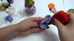 recordatorios cupcakes elaborados en porcelanicron y envases reutilizables