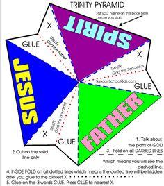 SundaySchoolKids Trinity Pyramid