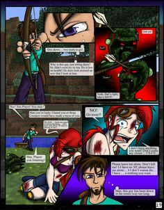 Minecraft: The Awakening Pg19 by TomBoy-Comics on deviantART  Btw, since Steve is in a single player server, he has NO idea what a girl is....... Just saying......
