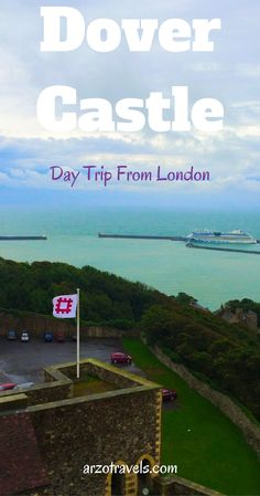 A great day trip idea from London, England. Dover Castle, where history meet awesome views. Europe