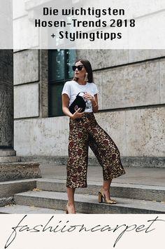 2018 ist das Jahr unerwarteter Trend-Comebacks und stilsicherer Klassiker zugleich. Auch in Sachen Hosen-Trends 2018 kann man das feststellen. Ich stelle mal die These auf, dass das ein oder andere Trend Hosen-Modell euch anfangs Kopfschmerzen bereiten könnte – zumindest in Sachen Styling. #trending #pants #fashion #styling