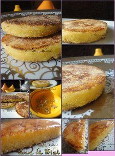 harcha galette pain marocain semoule miel