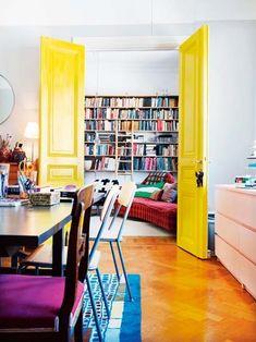 Detalles y color, amarillo
