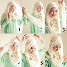 Hijab Pesta ala Dian Pelangi