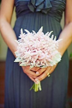 simple astilbe boquet