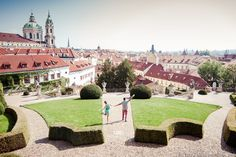 Walking tour with photographer in Prague