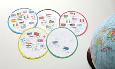 Continents and Countries Olympic Sort - Planet Smarty Pants