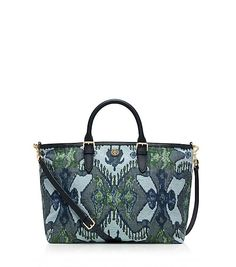 Tory Burch FINLEY SATCHEL so lovely, wish we all had an extra $450 to get one