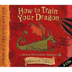 How to Train Your Dragon read by David Tennant?! Yes please!