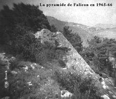 The Pyramid of Falicon. near Nice, France