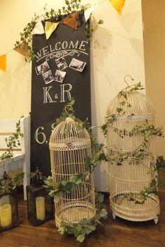 森のウェディング、ナチュラルウェディング、グリーンがたっぷりの森の結婚式、ウェディングパーティーのアイディア - オリジナルウェディング・フラワー コンセプトウェディング・フラワー専門店 花屋福太郎
